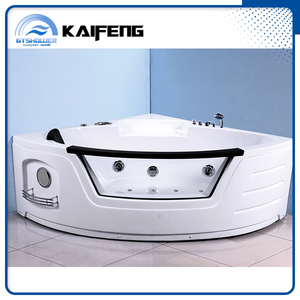 One Person Corner Whirpool Bathtub