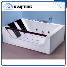 1.8m by 1.2m Hydromassage Bathtub with 2 Sided Skirt