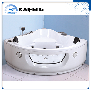 2 Person Cheap Corner Massage Bath Tub