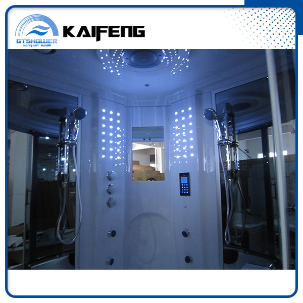 Luxury Computer Steam Shower Room with Sauna