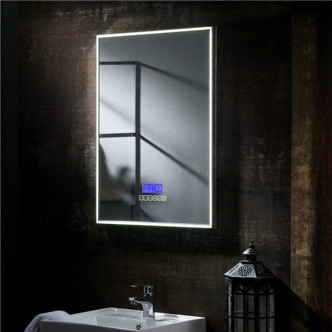 Illuminated bathroom mirrors SM007
